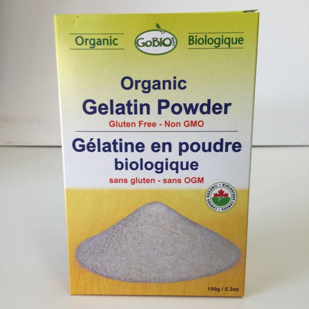GoBio! Organic Gelatin Powder 150g. Image