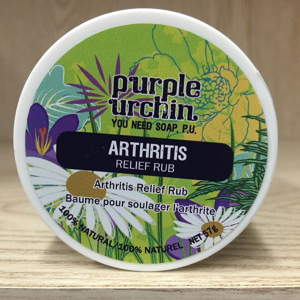 Purple Urchin arthritis relief rub 57g. Image