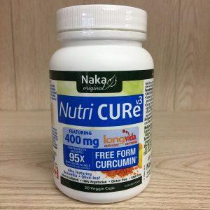 Naka NutriCURE V2 Longvida - 400mg. 30vcps. Image