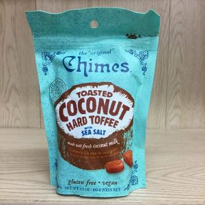 The Original Chimes Toasted Coconut Caramel Toffee - 100g. Image
