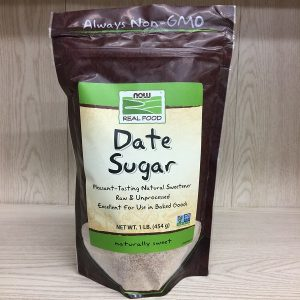 Now Foods Raw Date Sugar - 454g. Image