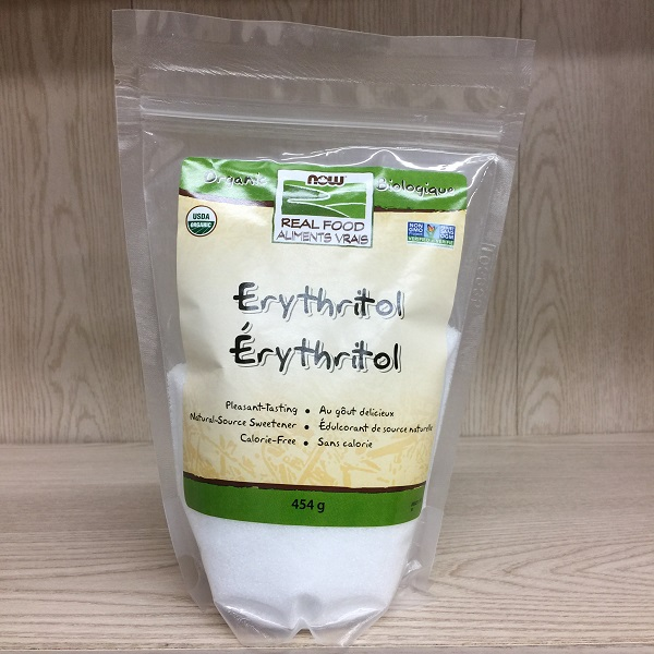 Now Foods Erythritol Sweetener - 454g. Image