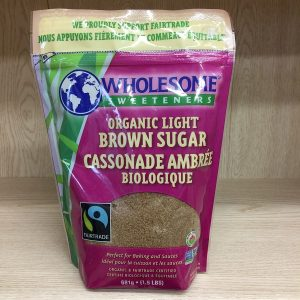 Wholesome Sweeteners Light Brown Sugar - 1.5lbs Image