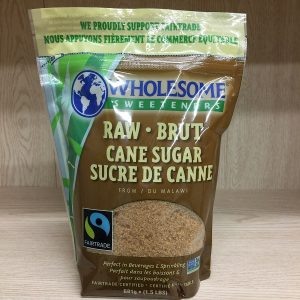 Wholesome Sweeteners Raw Cane Sugar - 1.5lbs Image
