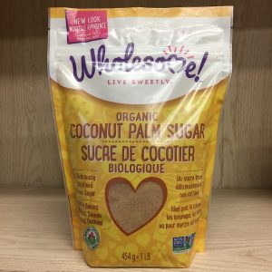 Wholesome Sweeteners Coconut Palm Sugar - 1lb. Image