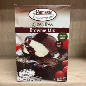 Namaste Foods Allergen-Free Brownie Mix - 850g. Image