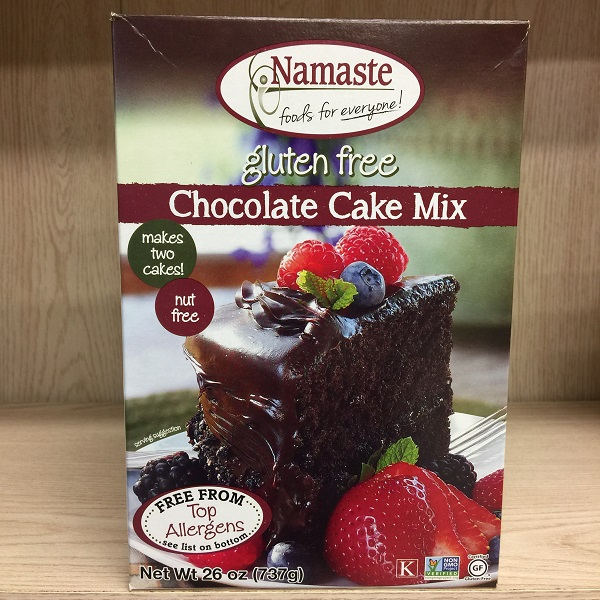 Namaste Foods Allergen-Free Chocolate Cake Mix - 737g. Image