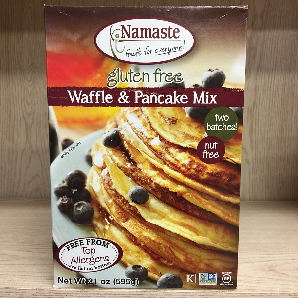 Namaste Foods Allergen-Free Waffle & Pancake Mix - 595g. Image
