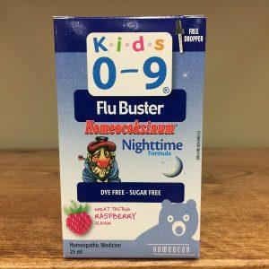 Homeocan Kids 0-9 Flu Buster Homeocoksinum nighttime - 25ml. Image