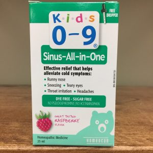 Homeocan Kids 0-9 Sinus All In One - 25ml. Image
