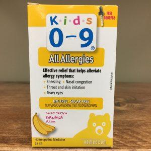 Homeocan Kids 0-9 All Allergies - 25ml. Image