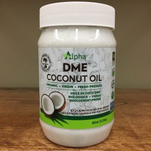 Alpha DME Coconut Oil - 110ml. Image