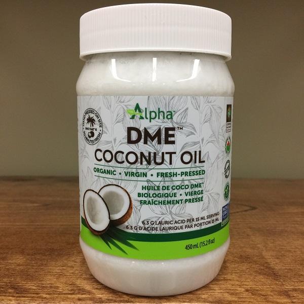 Alpha DME Coconut Oil - 110ml. Image