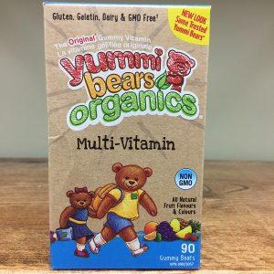 Hero Nutritionals Yummy Bears kids multis - 90gummies Image