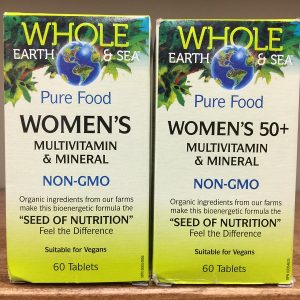 Natural Factors Whole Earth & Sea Pure Food Women