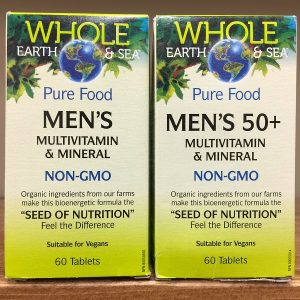 Natural Factors Whole Earth & Sea Pure Food Men