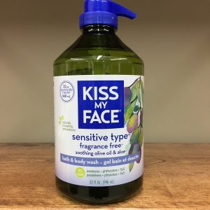 K.M.F. Sensitive Type Fragrance Free bath & body wash - 946ml. Image