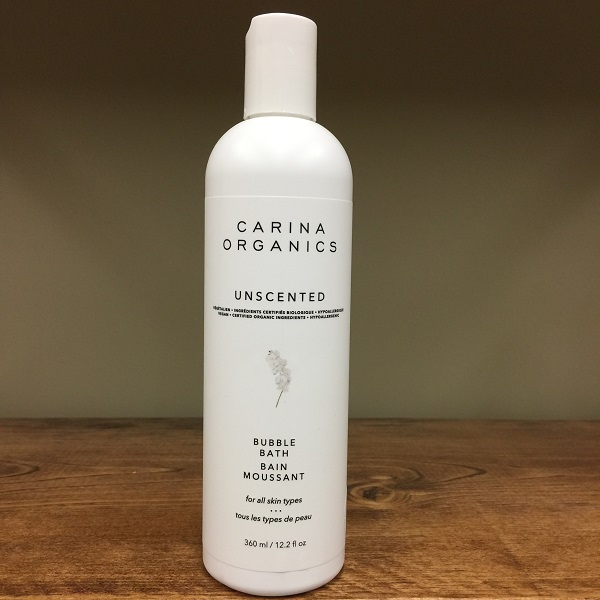 Carina Organics Unscented bubblebath - 360ml. Image