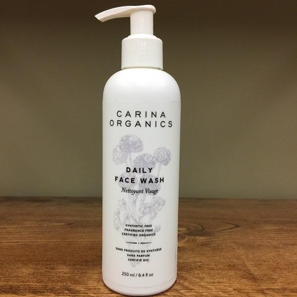 Carina Organics Unscented face wash - 250ml. Image