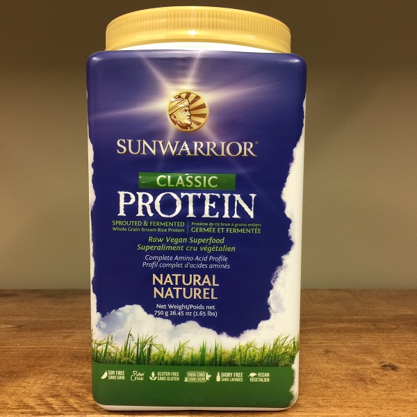 Sun Warrior Classic Sprouted Vegan Protein Powder - 750g. Image