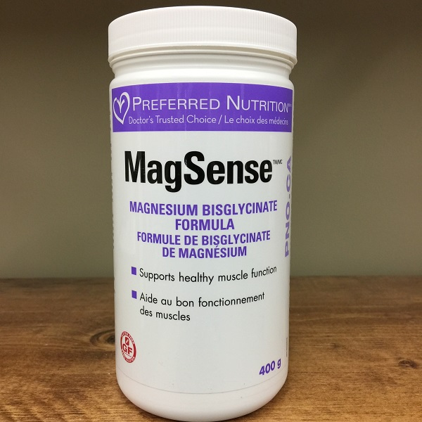 Preferred Nutrition MagSense magnesium formula - 400g. Image