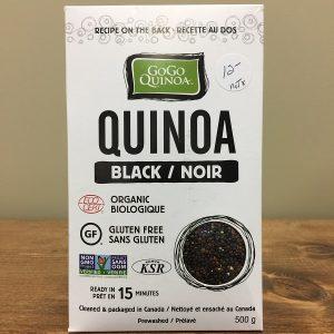 GoGo Quinoa Black - 500g. Image