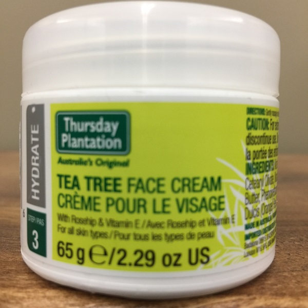 Thursday Plantation Tea Tree/Rosehips/Vit.E Face Cream - 65g. Image