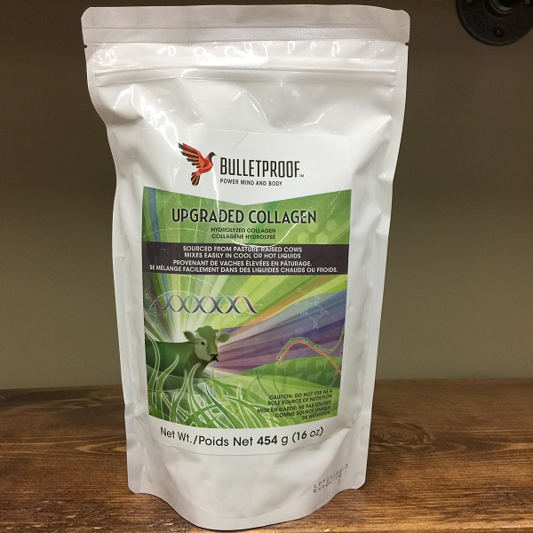 Bulletproof Upgraded Hydrolyzed Collagen - 454g. 1lb. Image