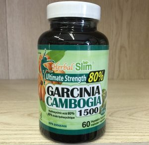 Herbal Slim Garcinia Cambogia 80% 60vcps. Image