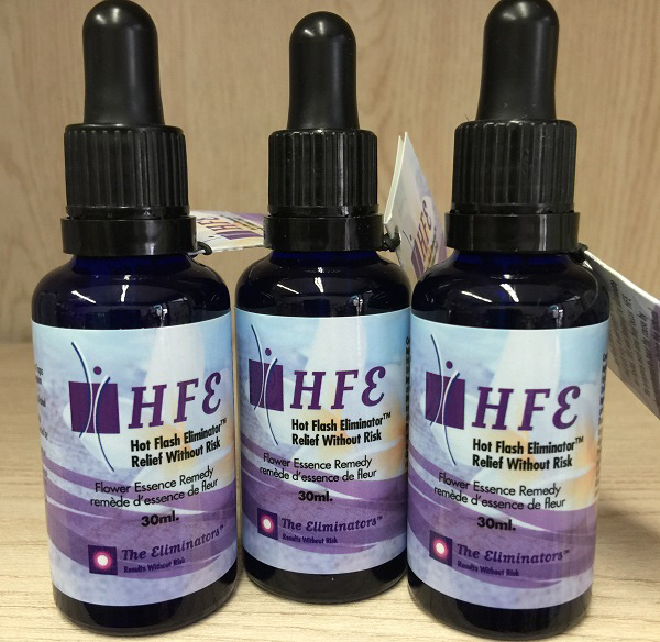 he Eliminators HFE - hot flash eliminator 30ml. Image