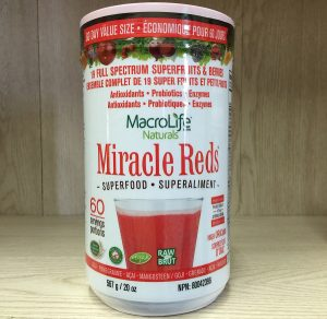 MacroLife Naturals Miracle Reds Superfood 567g. 60 servings Image