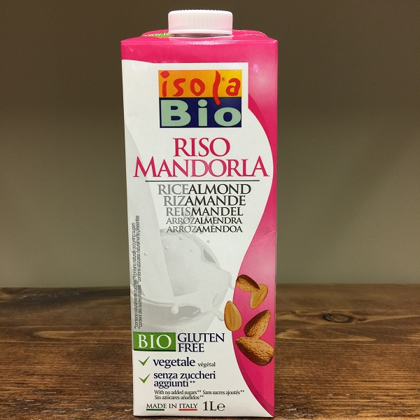 Isola Bio Rice Almond Milk - 1L. Image