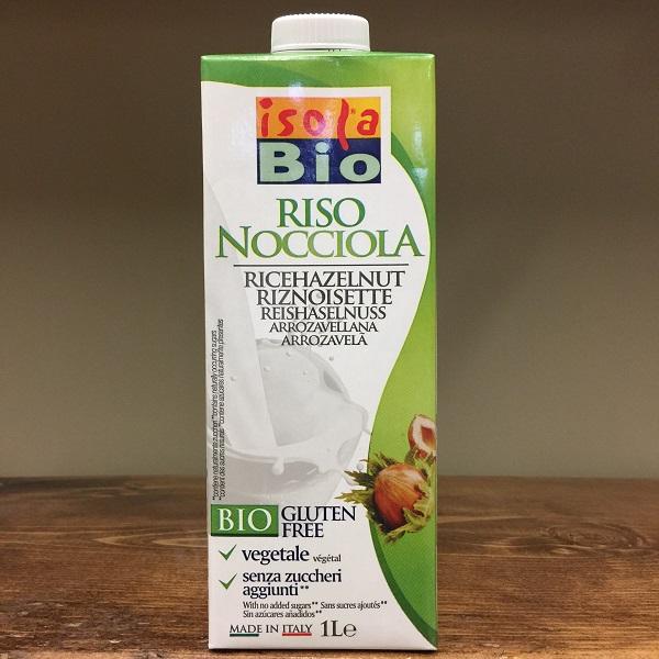Isola Bio Rice Hazelnut Milk - 1L. Image